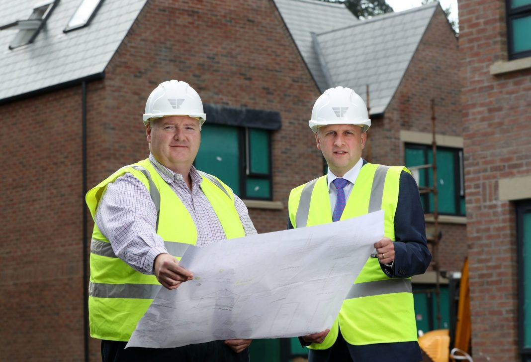Pictured (L-R) are Aidan Flynn, Managing Director at Flynn, and Gary Barr, Relationship Director, Commercial Real Estate at Ulster Bank.