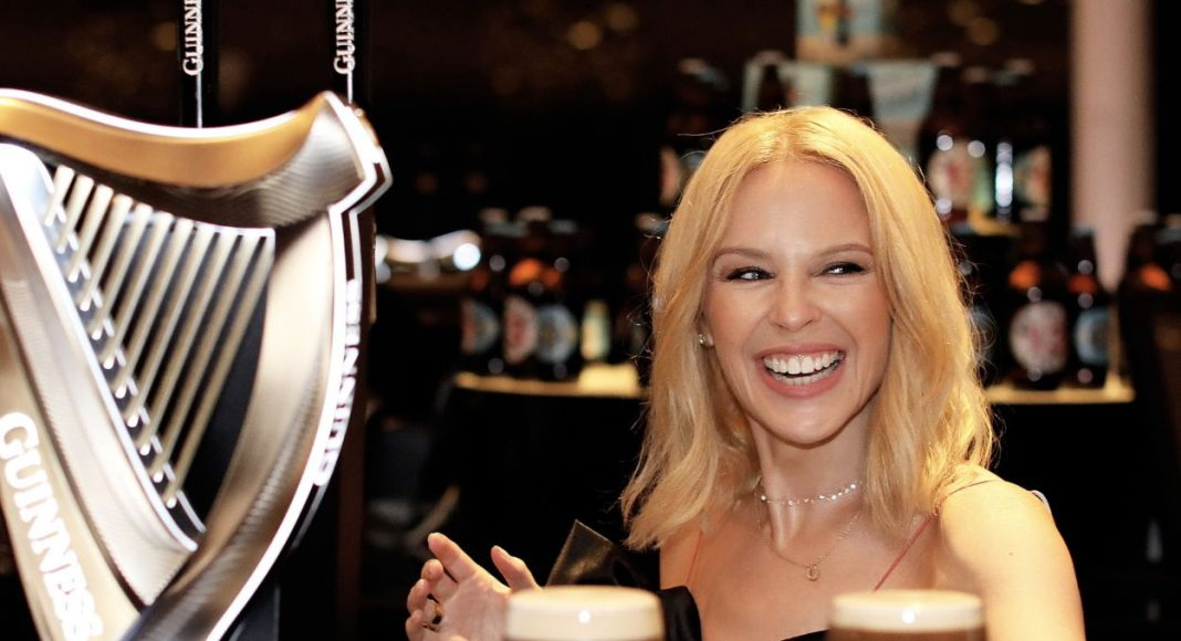 Kylie Minogue offering free admission to Guinness Storehouse.