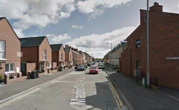 Madrid Street, Belfast.