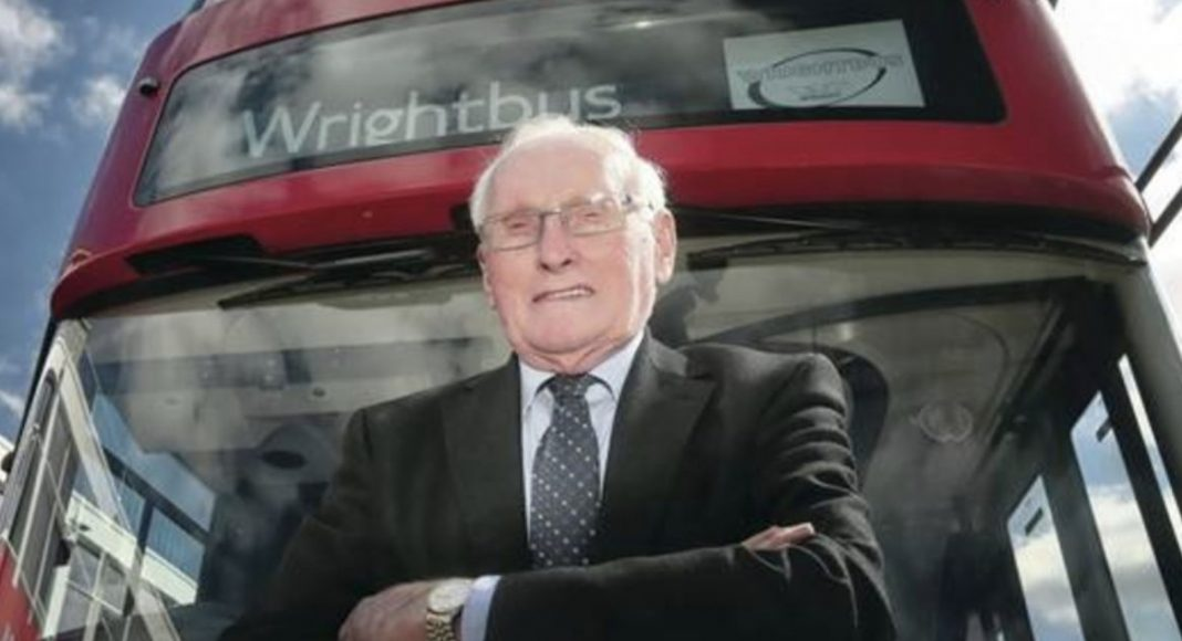 Sir William Wright 'honoured' ahead of Freedom of the Borough Award