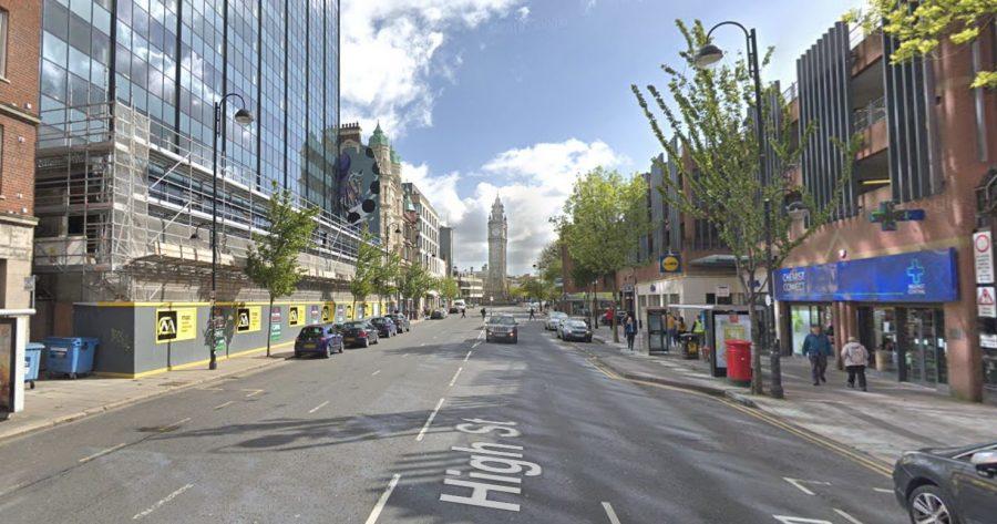 High Street, Belfast. Google Maps.