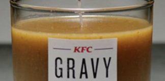The KFC gravy candle.