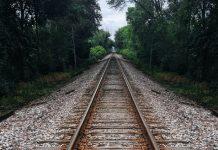 Railway - stock image.