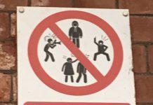 Ballymoney sign has been branded as humorous.